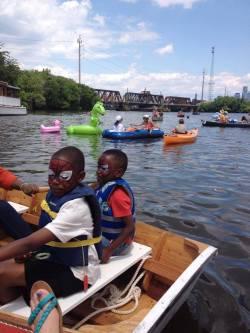 Tidal Schuylkill Boat Parade: June 14th at Noon